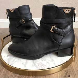 Tory Burch Sidney Short Ankle Riding Boots Size 9M